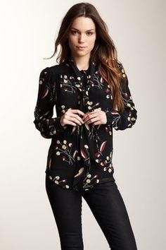 Dixon Silk Blouse LOVE this blouse. #date night piccee.com picceechronicles.com