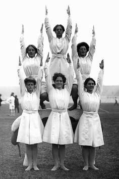 1908 London Olympic gymnasts