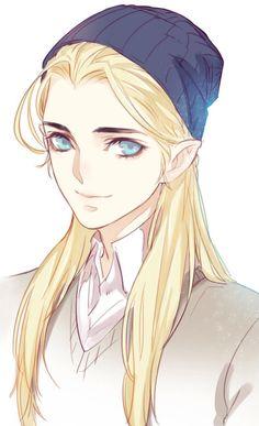 AU modern Legolas, by Starember... Why do they always look like girls? Nikki