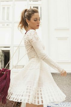 Find images and videos about girl, inspiration and Queen on We Heart It - the app to get lost in what you love. Clara Alonso, Vogue, Sexy Skirt, Girl Crushes, Flare Dress, Beautiful Dresses, Party Dress, Flower Girl Dresses, Celebs