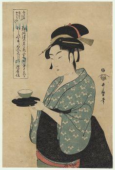 naniwaya okita  / utamaro / 1750 - 1806
