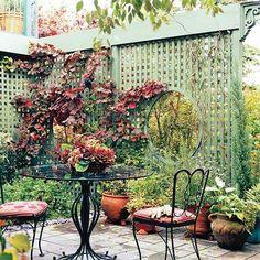 Gartenbau Robert Brandl | Spalier - Sichtschutz - Garten ... Sichtschutz Im Garten 15 Holzzaun Design Ideen