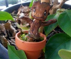 Baby Groot Figurine