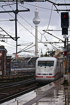 Berlin TV Tower   Fernsehturm More information on #Berlin: visitBerlin.com