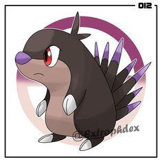 """Toxypine, the Porcupine Pokemon [Poison/Normal] ⚜️ Height: 1'04"""" (0.4m) Weight: 18.7 lbs (8.5kg) ⚜️ Sleep Dart // Thick Fat (HA) HP - 30 ATK - 45 DEF - 55 SPATK - 50 SPDEF - 30 SPE - 30 ⚜️ Ability: Sleep Dart - Contact with the Pokemon has a 30% chance of putting the foe to sleep. ⚜️ """"A Toxypine never uses its quills unless provoked. The poison it excretes only subdues the attacker."""" ⚜️ """"It spends most of its day collecting and eating berries. While it feeds, it sticks its quills out in…"""