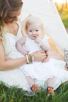 Leather baby shoes Adelisaandco.com