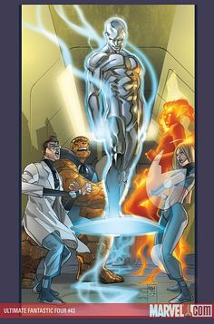 Silver Surfer and Fantastic Four by Pasqual Ferry                                                                                                                                                     More