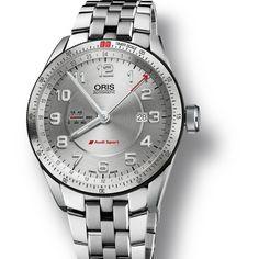 Oris Audi Sport GMT Watch Hands-On | aBlogtoWatch
