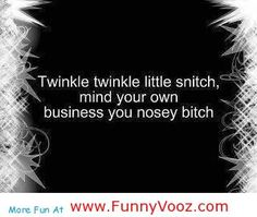 Funny Quotes About Nosey People | funny sayings