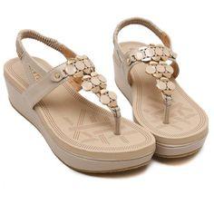 Summer Comfortable Sandals Women Platform Sandals Fashion Shoes Woman Sandals – #sandals #sandalssummer #sandalsoutfit #sandalsheelschunky #sandalsheelschunkylow #sandalsheelschunkyoutfit Shoes For College, Sandals Outfit Summer, Bohemian Sandals, Peep Toe Flats, Comfortable Sandals, Fashion Heels, Wedge Sandals, Flip Flops, Platforms