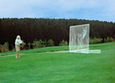 Our golf net diving range screens are custom built by our own expert net hangers. Driving Range Netting is double-laced at each mesh to a rope border for the full perimeter, with perpendicular rib lines installed to match with pole locations. Golf nets attach to a rope border that has a breaking strength of 2,300 lbs. and has galvanized corner thimbles to reduce chaffing at the main stress points.