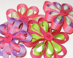 images of hair bows for little girls | The most amazing hair clips & bows for girls: Baby Bows & More