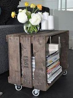 Bekijk de foto van wietsemeulendijks met als titel bijzet tafel fruitkist en andere inspirerende plaatjes op Welke.nl.