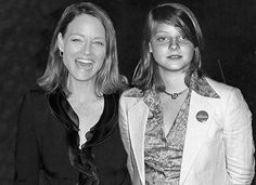 Jodie Foster - 14 Celebs Standing By Their Younger Selves - Suggest.com