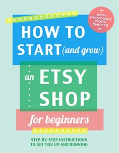 How to Sell on Etsy : Etsy Basics (Setting up Shop for Beginners)