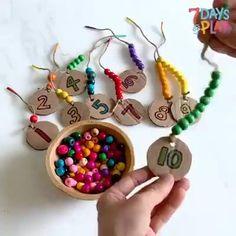 Creative Activities For Kids, Preschool Learning Activities, Math For Kids, Infant Activities, Preschool Activities, Toddler Crafts, Crafts For Kids, Kindergarten Learning, Kids Education