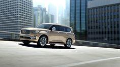 INFINITI, üst segmentteki lüks SUV'si, yeni QX80'i 2017 Dubai Otomobil Fuarı'nda tanıttı.