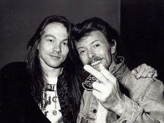Axl Rose & David Bowie
