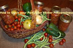 Winter Preparedness – How to Stock Your Pantry