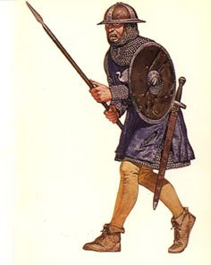 English spearman at Bannockburn