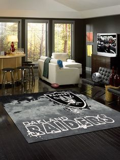 Area Rug Features: -High Quality 100% heavy woven polyester fabric -Chevron…