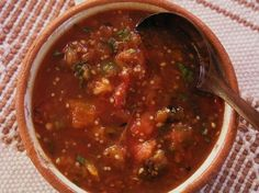 Salsa de Chile Piquin- a recipe for the newest addition to our garden.