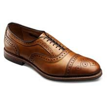 Strand with Combination Tap Sole Cap-toe Lace-up Oxford Men's Dress Shoes by Allen Edmonds