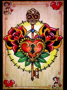 But with a crown instead of a skull!! Love this http://playingcardcollector.files.wordpress.com/2013/05/missaciddoll_the_ace_of_hearts.jpg