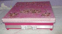 Caixa decorado em mdf