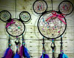 Mouse Dream Catcher | Dreamcatcher | Girl room decor | Kid's room | Wall hanging | boho style | Dreamcatchers