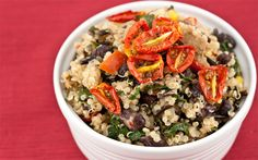 Black Bean, Kale & Sausage Quinoa Bowl - need to use up some leftover chicken sausage, this looks great!