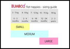 bumboo flat cloth nappy