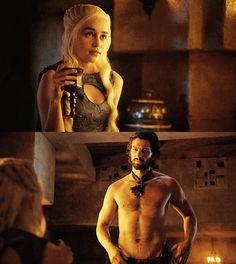 Game of thrones, Game of and Daenerys targaryen on Pinterest Daario Naharis And Daenerys Season 4