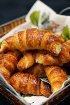 Croissants ~ Gastronomy of the World