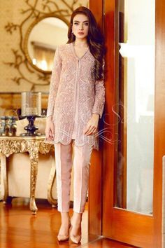 Sana Salman Swiss Voile Eid S/Summer Collection crisp plans of Swiss Voile dresses Swiss voile suits, spring summer occasions and celebrations, Pakistani Frocks, Pakistani Formal Dresses, Pakistani Outfits, Indian Dresses, Pakistani Party Wear, Indian Suits, Pakistani Fashion Casual, Muslim Fashion, Indian Fashion