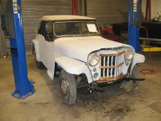 1950 Willys Jeepster - Photo submitted by Scott Ensor.