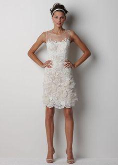 Watters Melbourne Little White Wedding Dress