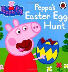 Peppa Pig: Peppa's Easter Egg Hunt by Ladybird Books Ltd. It's Easter time and Grandpa Pig has organized a special Easter Egg hunt. But Peppa Pig and her friends find more than chocolate eggs at the end of the garden! Easter Hunt, Easter Eggs, Easter 2014, Peppa Pig Books, Grandpa Pig, Easter Books, George Pig, Ladybird Books, Little Library