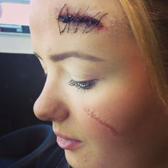 Stitches cuts scars, special effects