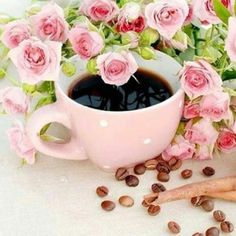 """""""Each day is different, but within every period we can generally find some time for the things that are important to us, even if just in the smallest amounts. Sunday Coffee, Good Morning Coffee, Coffee Cafe, Coffee Break, Goog Morning, Drink Coffee, Coffee Flower, Tea And Books, Birthday Brunch"""