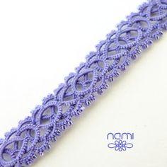 Handmade lace jewelry, patterns and tutorials for tatting Tatted Bracelet Pattern, Tatting Bracelet, Tatting Earrings, Tatting Jewelry, Thread Jewellery, Tatting Lace, Bracelet Patterns, Crochet Necklace, Thread Crochet