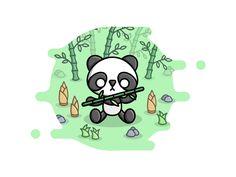 HANCO Design Décorations de Noël-Panda avec Bébé