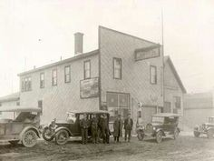 The first Timmins Garage Quebec, Ontario, Bears, Garage, Canada, History, City, Drive Way, Quebec City