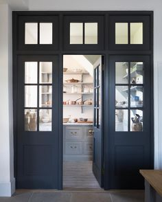 """944 Likes, 10 Comments - Humphrey Munson (@humphreymunson) on Instagram: """"The walk in pantry at the Georgian hunting lodge project has our bespoke Georgian screens and door…"""""""