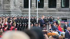 Prince William addresses the city of Victoria, thanking them for the affection shown to his Grandmother. He passed on the Queens greetings.