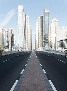 Follow me ... Dubai Marina,UAE (by Christian Wiedel)