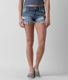 Women's Clothing Daytrip The Buckle Size 29 Stone Washed Capricorn Cut Off Style Jean Shorts Good Taste
