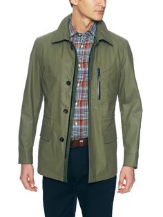 Luciano Barbera - Cotton Techno Jacket (olive khaki)