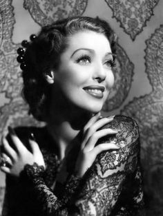Photographic Print: Loretta Young, He Stayed for Breakfast, 1940 : 24x18in
