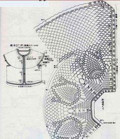 Очень подробно показывается вязание каждого ряда кокетки отдельно со схемой этого ряда,можно использовать как учебное пособие при вязани...